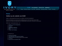 Ivory.nl - IVORY - Authentication Solutions