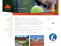 Tennisclub Forest Hills te Wommelgem - Tennis - Padel - Squas