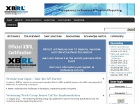 Xbrl.org - XBRL | An international standard language for communicating business data simply and quickly