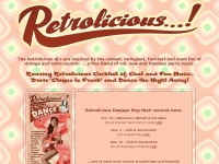 Retrolicious.info - Roaring Retrolicious Cocktail of Cool and Fun Music.