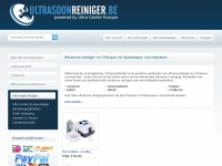 ultrasoonreiniger.be