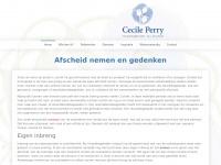 Cecile Perry - ritueelbegeleider bij afscheid - Afscheid nemen en gedenken