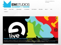 Emstudios.nl - Home | EMstudios Academy of Sound