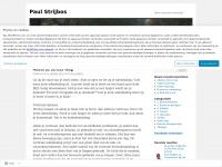 Paul Strijbos | Bravo voor jouw levensstijl