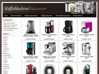 Koffiemachinediscounter.nl - Koffiemachine Discounter, de onafhankelijke prijsvergelijker van Espressomachines, Senseo, Nespresso Machines, Dolce Gusto