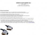 Scart-kabel.eu - Scart Kabels - Informatie en Tips over Scart Kabels