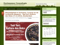 Surinaamse Genealogie | Website van Freelance Genealoog Denie Kasan