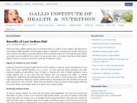 Galloinstitute.org - Gallo Institute of Health and Nutrition