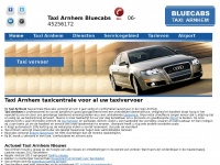Home - Taxi Arnhem Bluecabs