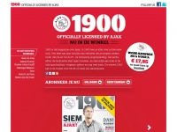 1900magazine.nl - 1900 Magazine | Officially licensed by Ajax
