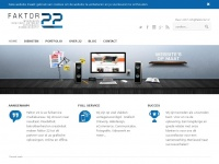 Webbureau Faktor 22 - Webdesign, Vormgeving & Online Marketing