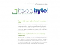 Have a Byte! Website Webdevelopment en Webdesign Heerlen Parkstad