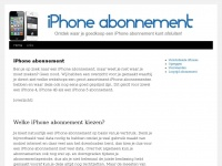 iPhone abonnement | Check de abonnementen van alle iPhones
