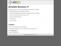 Actabyte.nl - Actabyte Business IT. One-Stop-Shopping op IT gebied