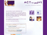 Acttomove.nl - :: Act To Move ::