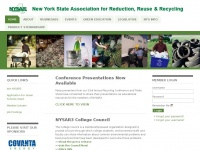 Nysar3.org - New York State Association for Reduction, Reuse and Recycling