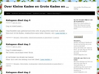 Over Kleine Kadee en Grote Kadee en Flavie en… | Just another WordPress.com weblog