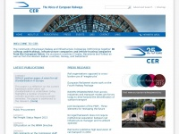 Cer.be - CER:Home | The Voice of European Railways