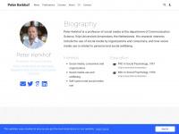 Peter Kerkhof | Communication Science | Vrije Univeriteit Amsterdam | Social Media | Webcare | Content Marketing | Higher Education