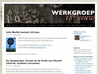 Werkgroep 18e Eeuw | Dutch-Belgian Society for Eighteenth Century Studies