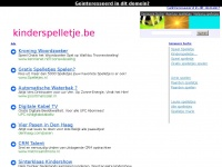 kinderspelletje.be