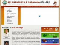 Ssandncollege.org - SS and N College, Narasaraopet