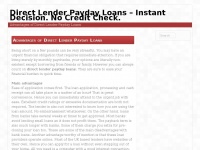 Kiokipayday.co.uk - Direct Lender Payday Loans – Instant Decision. No Credit Check.
