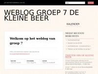 Weblog groep 7 De Kleine Beer | Just another WordPress.com site