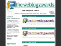 Weblogawards.org - Weblog Awards