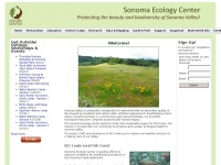 Sonomaecologycenter.org - Sonoma Ecology Center | Beautiful. Sustainable. Sonoma.