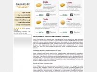 Cialisonlinemd.com - Cialis Online: Real Canadian Pharmacy