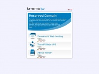Vakantiegangers.nl - TransIP - Reserved domain