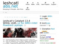 Leshcatlabs.net - Dummy Page