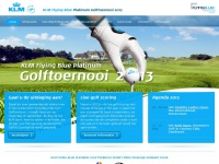 Klmfbplatinumgolf.nl - Home | KLM Flying Blue