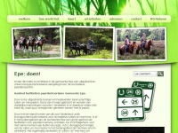 Paardenroute Epe - Epe: doen!