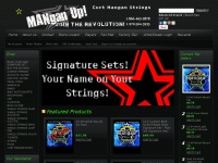 Curtmangan.com - Best Boutique Quality Strings for New and Vintage Acoustic, Electric, Guitar, Bass, Mandolin, Banjo, Pedal Steel, Bajo Sexto and Quinto, Ukulele, Curt Mangan Made in USA - Custom Strings Great Gifts for Guitar Players