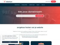 Intention | Webhosting, domeinregistratie - Boekel - Zorgeloos hosten op de snelste servers