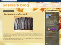 Saskia's blog