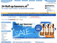 24-Roll-up-banners.nl, Roll-up banners - In 24 uur de goedkoopste roll up banners!