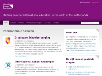 International Schools Groningen | Starting point for international education in the north of the Netherlands