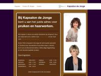 Kapsalondejonge.nl - Kapsalon de Jonge, pruik/haarspecialist & kapper Middelburg, Zeeland