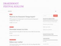 Open Fries Kampioenschap Drakenbootrace in Kollum