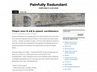 Painfully Redundant | Usefulness is overrated