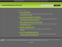 vakantieboekenonline.be domain name is for sale. Inquire now.