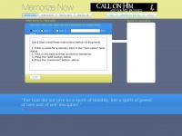 Memorizenow.com - Memorize Now - Home