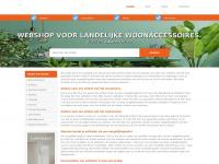 Allesvoorinjehuis.com - Webshop voor Landelijke Woonaccessoires.