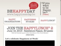 Happinessday.be - Happinessday