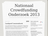 crowdfundingonderzoek.nl