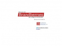 Communicatiebureau Brandberries: Sterk in webdesign en grafisch ontwerp in Gent