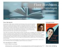 Floor Borsboom Literaire vertalingen